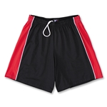 Yale Women's 4-Way Stretch Lacrosse Short (Blk/Red)