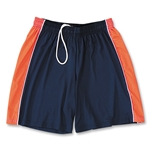 Yale Women's 4-Way Stretch Lacrosse Short (Nv/Orange)