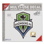 Seattle Sounders 5 x 6 Decal