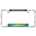 Seattle Sounders License Plate Frame