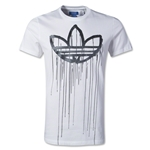 adidas Originals Action Drips Graphic T-Shirt (White)