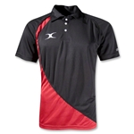Gilbert Pro V2 Polo (Black/Red)