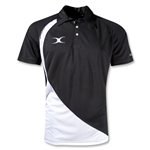 Gilbert Pro V2 Polo (Black/White)