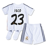 Real Madrid 13/14 ISCO Home Baby Kit