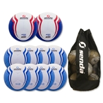 Senda Valor Ball 10 Pack (Light Blue/Blue)