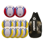 Senda Valor Ball 10 Pack (Yellow/Red)