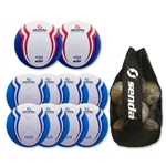 Senda Valor XLS Ball 10 Pack (Sky/Blue)
