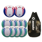 Senda Valor XLS Ball 10 Pack (Turqouise/Blue)