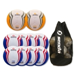 Senda Apex Ball 10 Pack (Blue/Orange)
