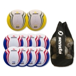 Senda Apex Ball 10 Pack (Blue/Yellow)