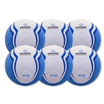 Senda Valor Club Ball 6 Pack (Light Blue)