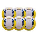 Senda Valor Club Ball 6 Pack (Yellow)