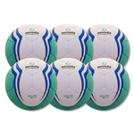 Senda Valor XLS Club Ball 6 Pack (Turqouise)
