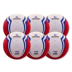 Senda Apex Match Ball 6 Pack (Red)