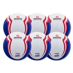 Senda Apex Match Ball 6 Pack (Blue)