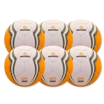 Senda Apex XLS Match Ball 6 Pack (Orange)