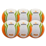 Senda Rio XLS Futsal Training Ball 6 Pack
