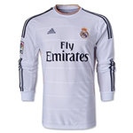 Real Madrid 13/14 Jersey de Futbol Local ML