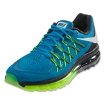 Nike Air Max 2015 Men's Running Shoe (Light Blue Lacquer/White/Volt)