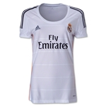 Real Madrid 13/14 Women's Home Soccer Jersey