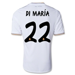 Real Madrid 13/14 DI MARIA UCL Jersey de Futbol Local