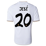 Real Madrid 13/14 JESE UCL Home Soccer Jersey
