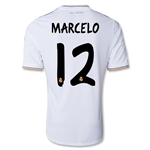 Real Madrid 13/14 MARCELO UCL Jersey de Futbol Local