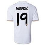 Real Madrid 13/14 MODRIC UCL Jersey de Futbol Local