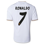 Real Madrid 13/14 RONALDO UCL Home Soccer Jersey