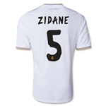 Real Madrid 13/14 ZIDANE UCL Jersey de Futbol Local