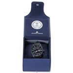 UCL Black Plate Watch (Stainless Steel)