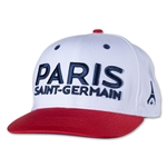 Paris Saint-Germain Flat Brim Cap