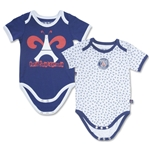 Paris Saint-Germain Baby Bodysuit (2 Pack)