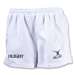 Gilbert Kryten Match Rugby Logo Short (White)
