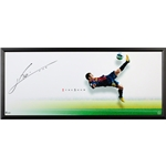 Upper Deck Barcelona Messi The Show Signed Framed Picture