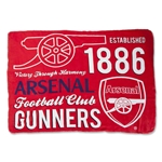 Arsenal Giant Graphic Fleece Blanket