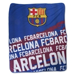 Barcelona Impact Fleece Blanket