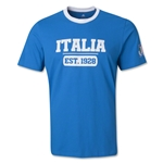 Italy 13/14 Logo Supporter T-Shirt (Royal)