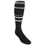 Gilbert Training Sock (Black/White)