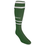 Gilbert Training Sock (Green/White)
