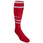 Gilbert Training Sock (Red/White)