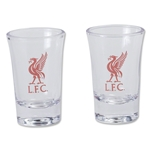 Liverpool 2 Pack Shot Glass