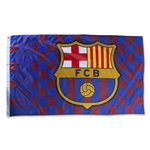 Barcelona 5' x 3' Checkered Flag