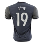 Germany 2016 GOTZE Away Soccer Jersey
