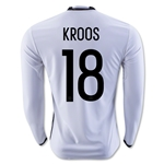 Germany 2016 KROOS LS Home Soccer Jersey