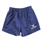 Gilbert Kiwi Pro Youth Rugby Short (Navy)