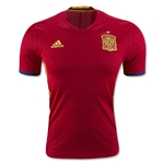 Spain 2016 Authentic Home Soccer Jersey
