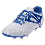 adidas Messi 15.3 Junior FG (White/Prime Blue/Black)