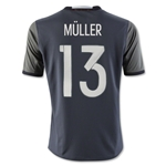 Germany 2016 MULLER Youth Away Soccer Jersey