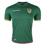 Bolivia 2015 Home Soccer Jersey